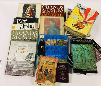 Lot de livres divers :  Revues