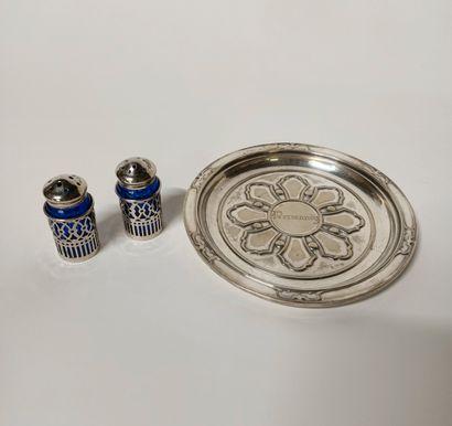Parties de ménagères en métal argenté des...