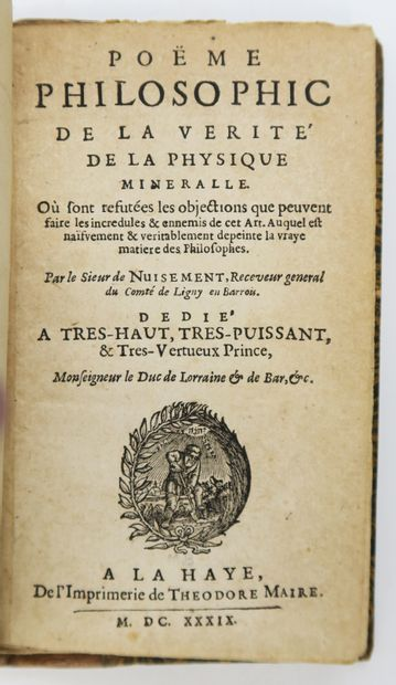 Alchimie - NUYSEMENT (Clovis HESTEAU de)....