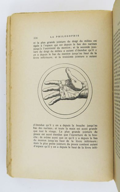 AGRIPPA (Henri-Corneille). La Philosophie...
