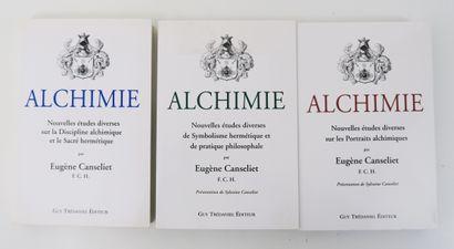 Alchimie - CANSELIET (Eugène). ALCHIMIE....