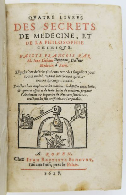 Alchimie - LIEBAULT (Jean). Quatre livres...