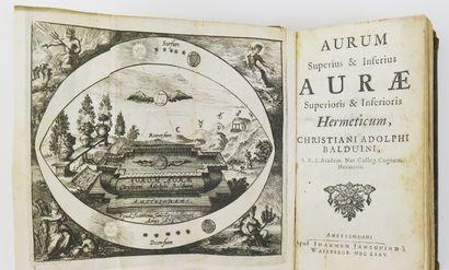 Alchimie - BALDUIN (Christian Adolph). Aurum...