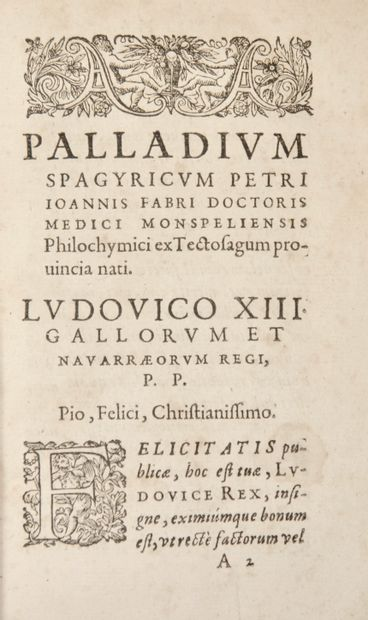 Alchimie - FABRE (Pierre-Jean). Palladium...