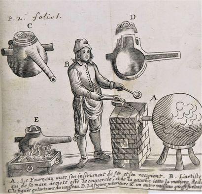 Alchimie - GLAUBER (Jean-Rodolphe). La description...
