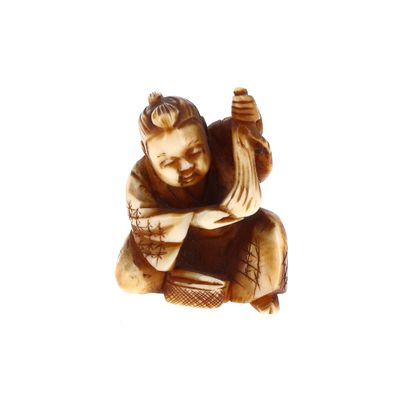 *JAPON, XIXe siècle à patine brune