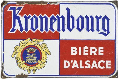 KRONENBOURG, Bière d'Alsace.