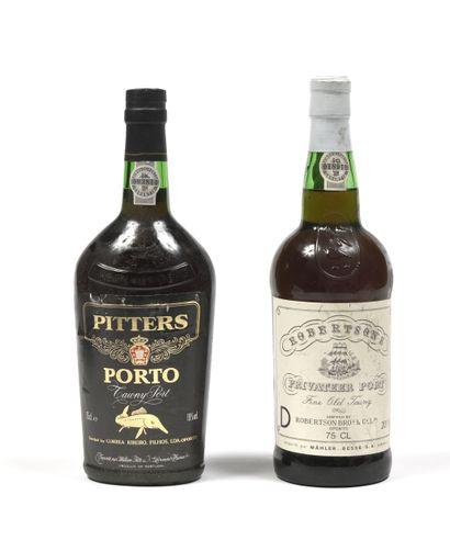 2 bouteilles PORTO