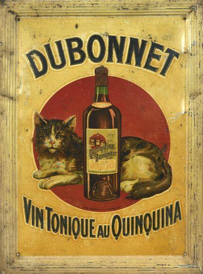 DUBONNET Vin Tonique au Quinquina.