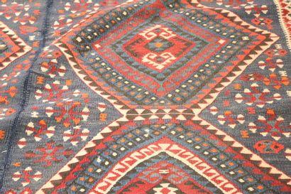 Kilim (Konya) - Anatolie centrale - Milieu XX eme  Tapis en deux parties cousues...