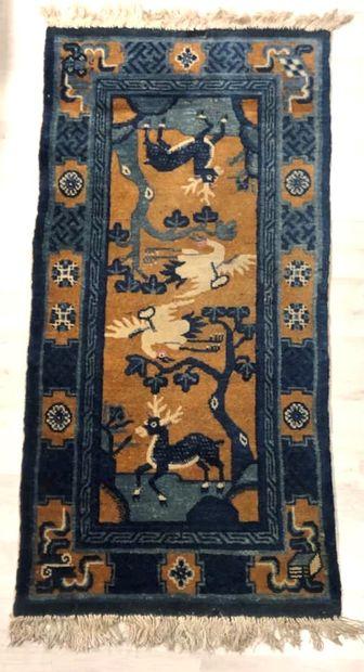 Chine Bao Tao,  Velours en laine sur fondations...
