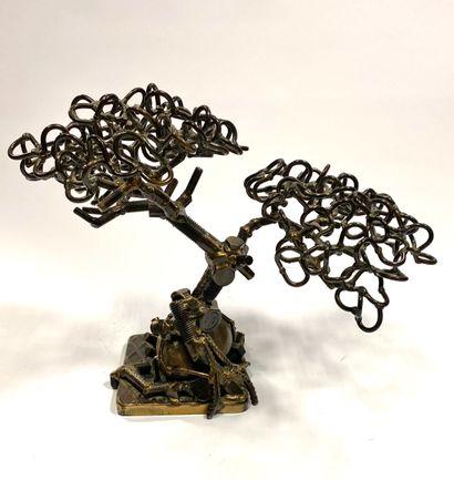 Laurent BOSIO (1964-)  Bonzaï  Sculpture...