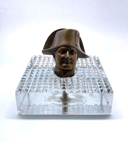 Napoléon I er coiffé du bicorne Bronze Monté...