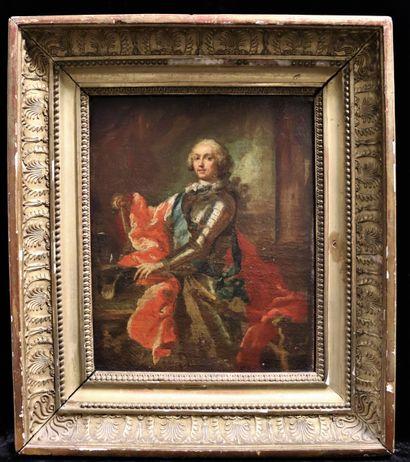 Ecole FRANCAISE fin XVIII ème  Portrait du...