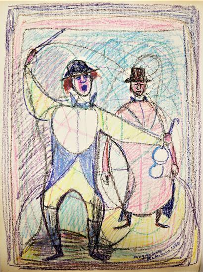 Magdalena RADULESCU (1902-1983)  Le cirque...