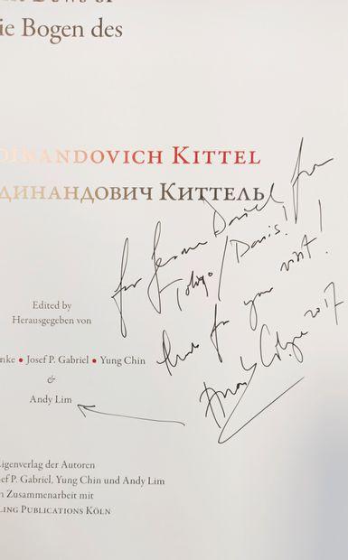 The bows of Nikolai Kittel  Klaus Grünke, Josef P. Gabriel, Yung Chin, Andy Lim...