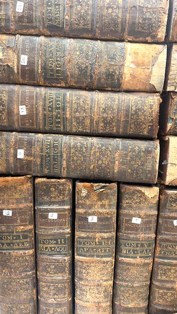 DIDEROT et d'ALEMBERT.  Encyclopédie ou dictionnaire raisonné des sciences, des...