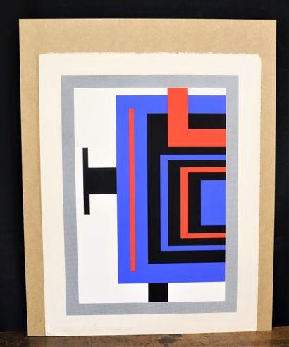 Nicolas SCHOFFER (1912-1992)  Composition...