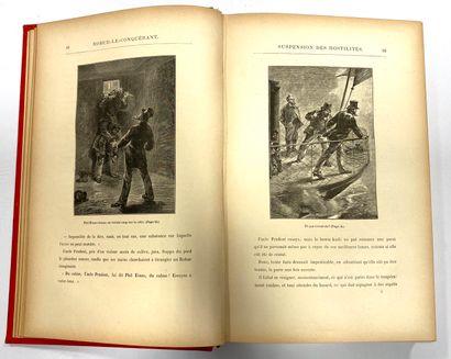 VERNE Jules (1828-1905)  Robur le conquérant. Un billet de loterie. Frritt - Flacc....