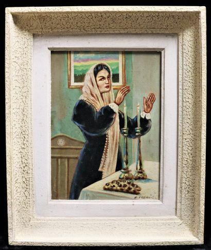 Helena FRENKIEL (1900-1942)  Femme, jour...