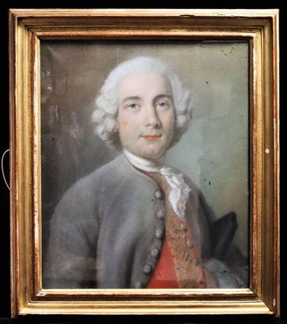 Pierre ALLAIS (1700-1781), Attribué à  Portrait...