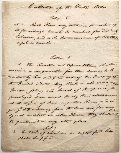 CONSTITUTION OF THE UNITED STATES  Copie...