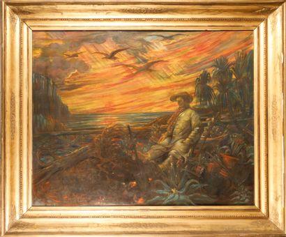 Henry DE GROUX (1866-1930)  Napoléon Ier...