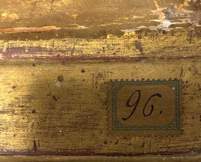 Ecole FRANCAISE fin XVIII ème  Portrait du Maréchal de Saxe (?)  Huile sur toile...