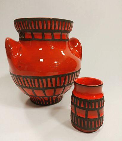 Roger Capron (1922 - 2006)  Vase dit