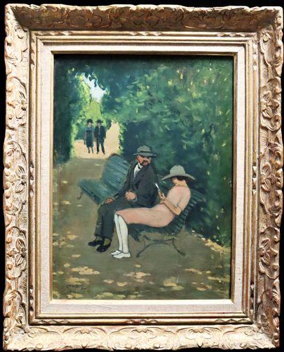 Augustin GRASS-MICK (1873-1963)  Eric Satie...