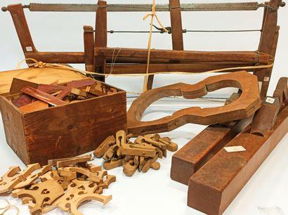 Outils de luthier et éléments de lutherie...