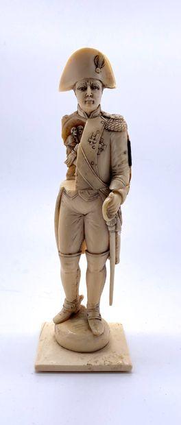 Napoléon Bonaparte  Sculpture en ivoire...