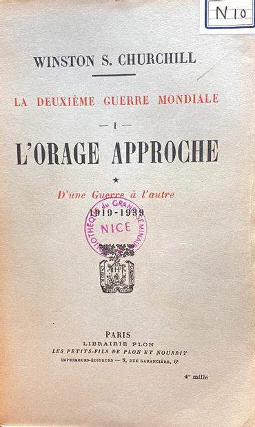 """Winston S. CHURCHILL (1874-1965)  """"Memoires sur la Deuxième Guerre Mondiale""""  Ed...."""