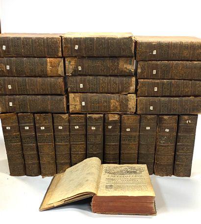 DIDEROT et d'ALEMBERT.  Encyclopédie ou dictionnaire...