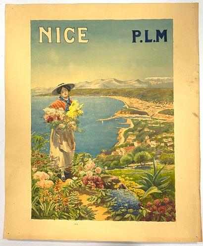 Pierre COMBA (1859-1934)  Projet d'affiche...