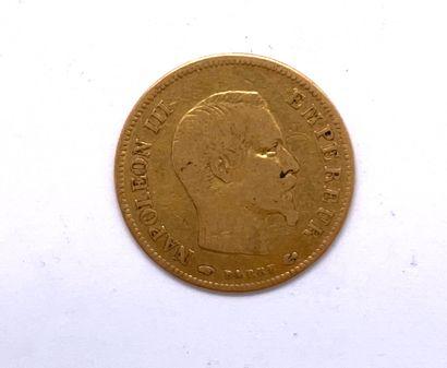 France - Napoléon III  Une monnaie de 10...