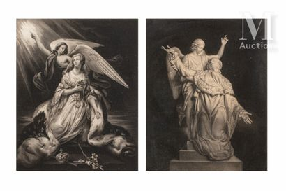 LOUIS XVI et MARIE-ANTOINETTE.