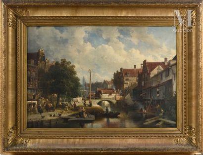Salomon Leonardus VERVEER (La Haye 1813 – 1876)