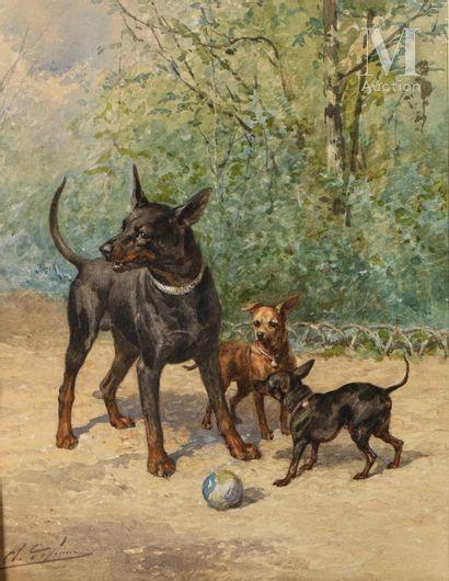 Olivier de PENNE (Paris 1831 – Bourron Marlotte 1897)