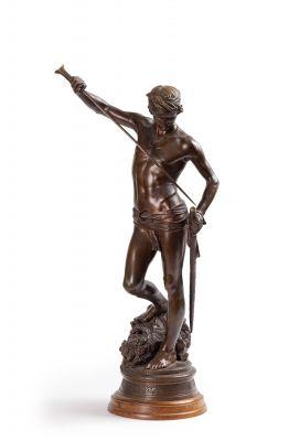 D'après Antonin MERCIE (1845-1916)  David...