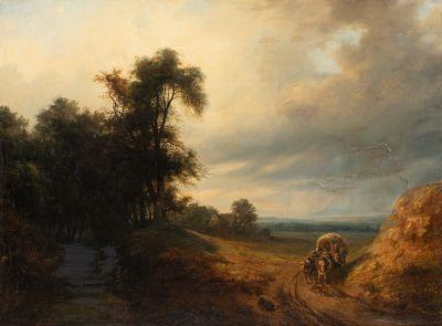 Charles-Claude DELAYE (1793-1848) ?  Paysage...