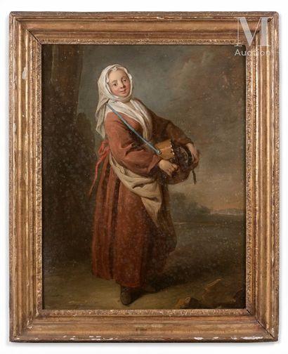 Attribué à Hugues TARAVAL  (1729 - 1785)...