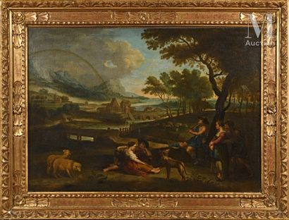 Ecole FLAMANDE du début du XVIIIème siècle, d'après Pierre Paul RUBENS The rest of...