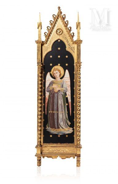 D'après Fra ANGELICO,  Ange musicien  Tableau...