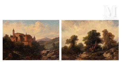 Jules COIGNET (Paris 1798 - 1860)