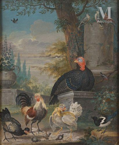 Attribué à Pieter CASTEELS III (1684 – 1749)
