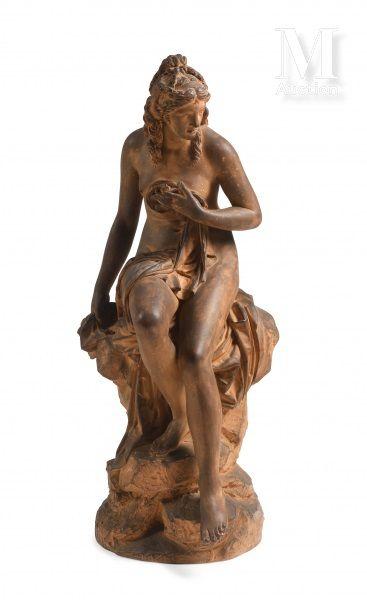 D'après Pierre Julien (1731-1804)  La nymphe...