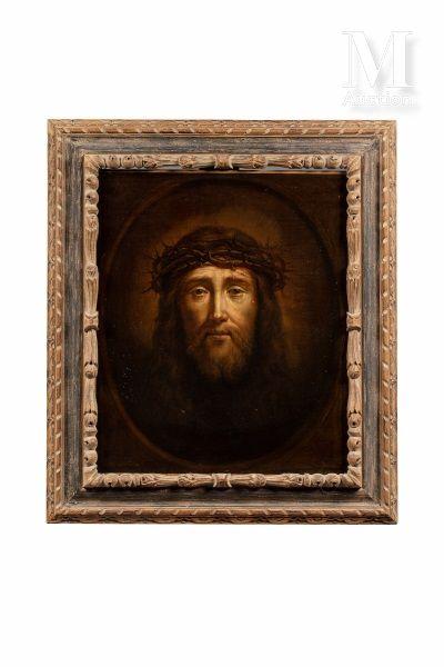 Ecole FRANCAISE du XVIIème siècle, suiveur de Philippe de CHAMPAIGNE Christ crowned...