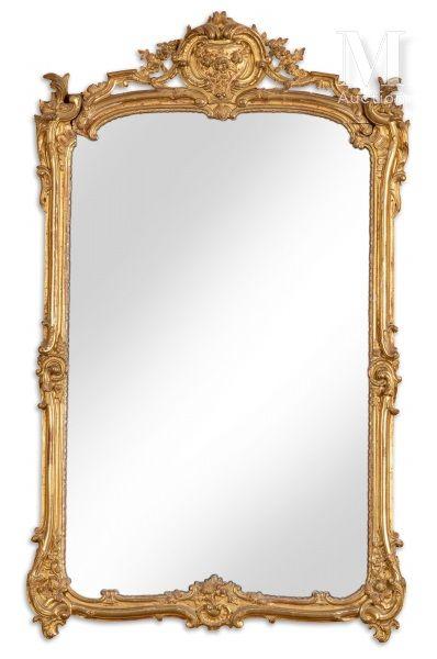 Miroir de forme rectangulaire inscrit dans...