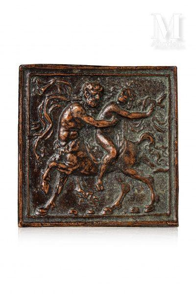 MODERNO (Verone 1467, Rome avant 1528)  Plaquette...